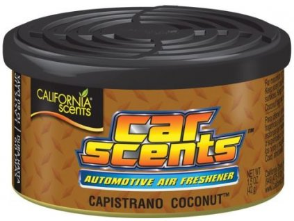 california scents car coconut