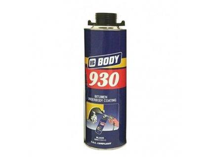 BODY 930 ochrana podvozku čierna 1KG