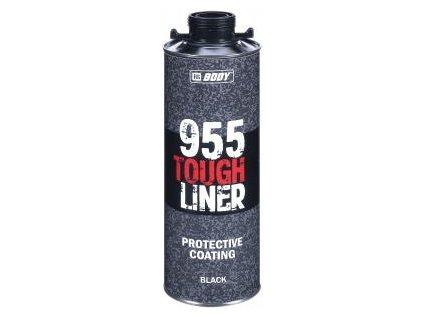 HB BODY 955 tough liner 2k polyuretán textúra čierny 600ml