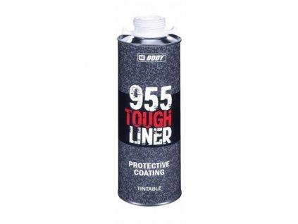 HB BODY 955 tough liner 2k polyuretán textúra biely 600ml