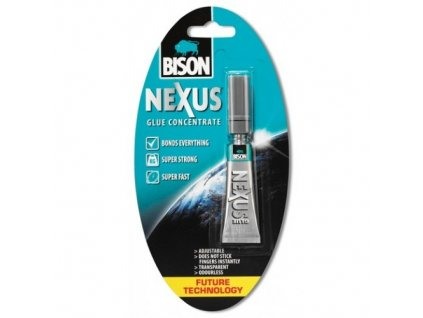 BISON Nexus - nové super lepidlo 7g