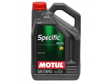 Motul Specific 5W 40 CNG LPG 5L
