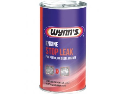 WYNNS ENGINE STOP LEAK 325ml Utesňovač motora 325ml