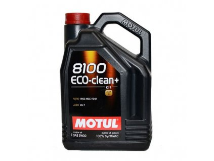 motul 8100 eco clean 5w 30 c1 5l