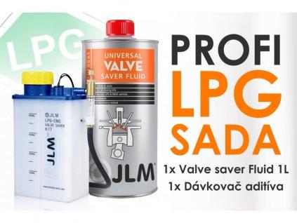 JLM ochrana ventilov sada 1l aditiva