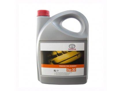 Toyota Premium Fuel Economy 0W 30 5L