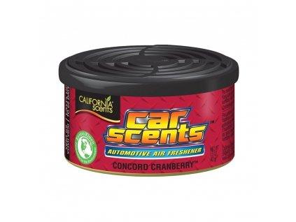 osviezovac vzduchu california scents vona concord cranberry
