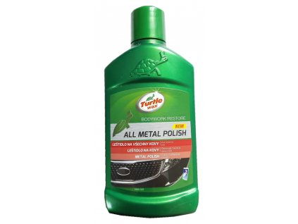 6986 turtle wax all metal polish 300ml lestidlo na chrom a kovy