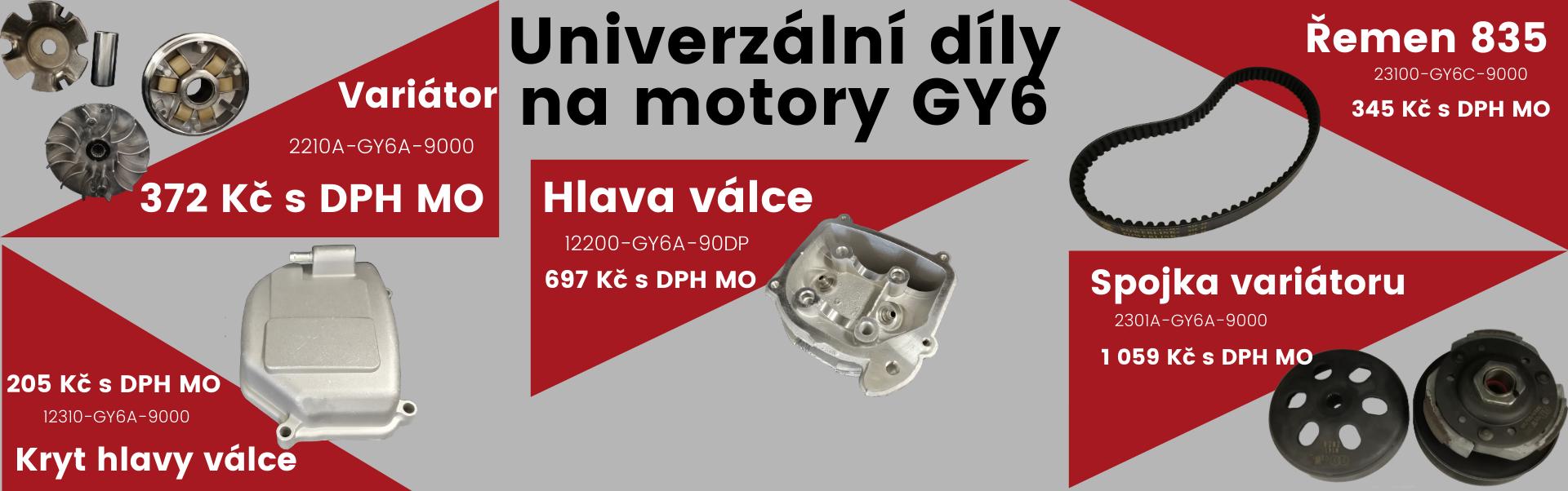 Univerzální díly GY6