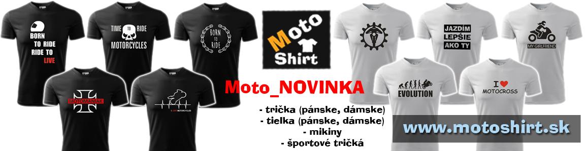 Nové trička v ponuke