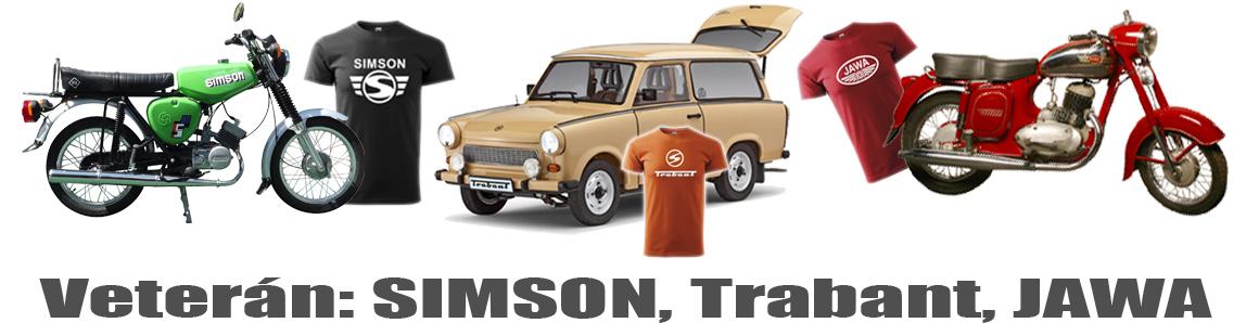 Veterán: Simson, Trabant, Jawa
