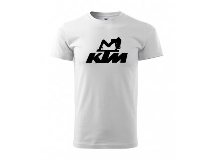 biele tričko ktm 2