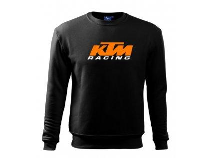 čierna mikina KTM