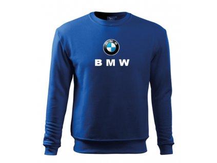 Mikina classica BMW, modrá