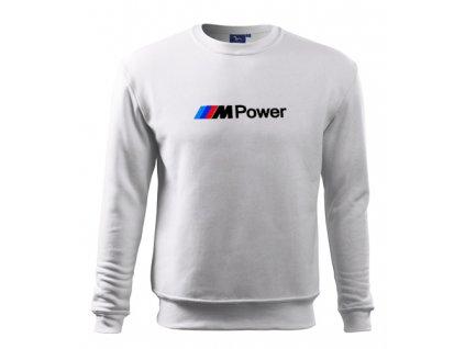 Biela mikina M Power
