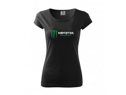 dámske tričko monster čierne 2