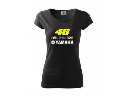 dámske tričko rossi čierne 2