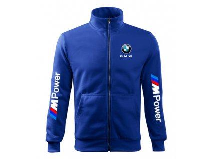 Mikina BMW modrá 2