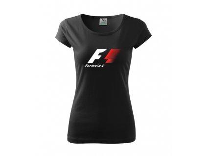 dámske tričko Čierne F1