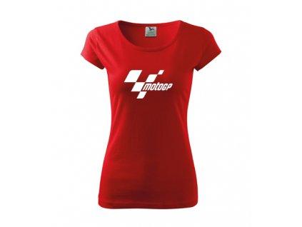 dámske tričko motoGP červené