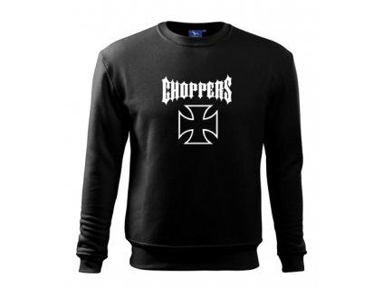 čierna mikina choppers 2