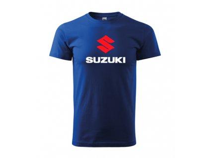 modré tričko suzuki