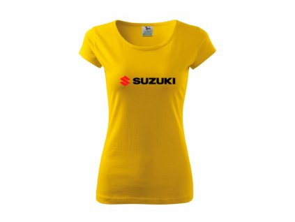 dámske tričko suzuki žlté 2