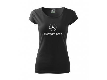 dámske tričko mercedes čierne