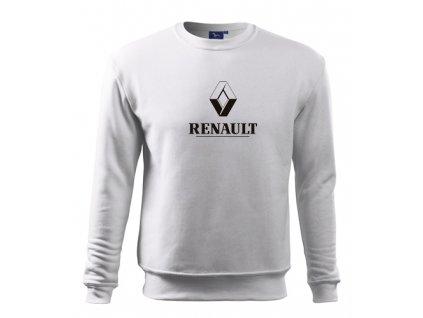 biela mikina renault