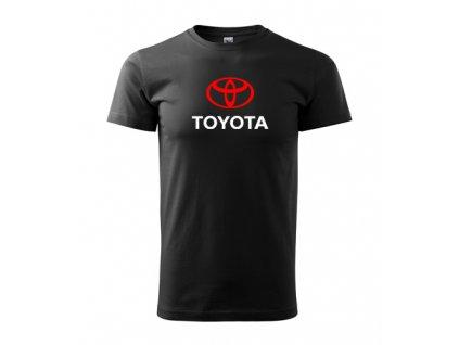 čierné tričko toyota
