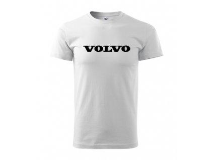 biele tričko volvo 2