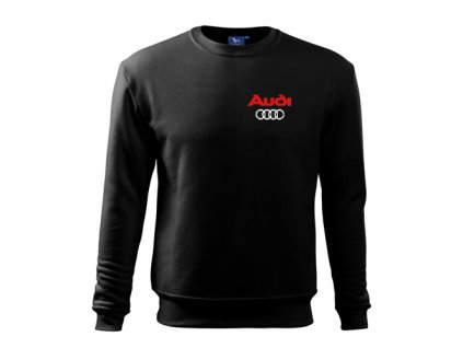 Čierna mikina Audi 2