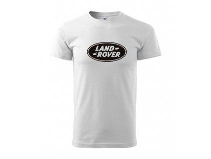 biele tričko landrover