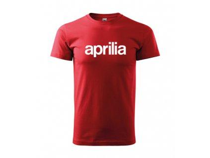 červené tričko aprilia