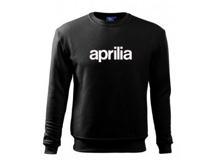 čierna mikina aprilia 2