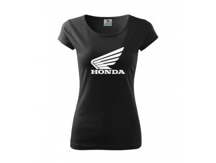 dámske tričko honda čierne