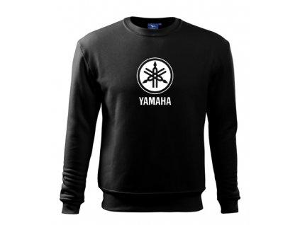 čierna mikina yamaha