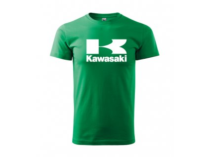 zelené tričko kawasaki