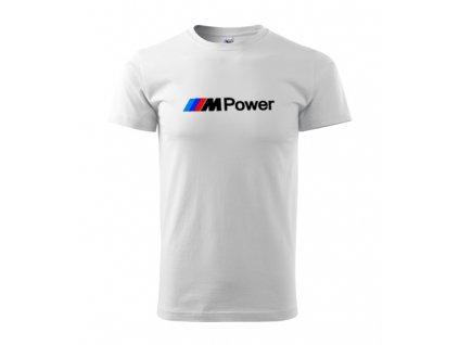 Biele tričko M Power