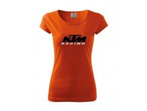 dámske tričko ktm oranzové