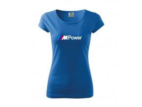 Dámske tričko M Power, modré