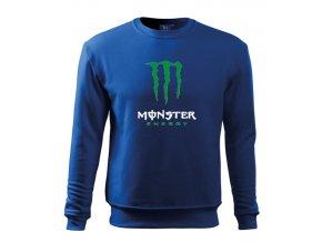 modrá mikina monster