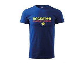 modré tričko rockstar 2