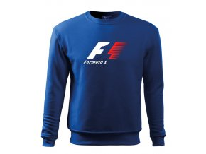 modrá mikina F1