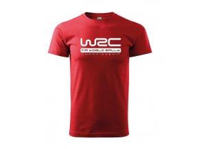 červené tričko wrc