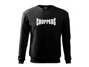 čierna mikina choppers