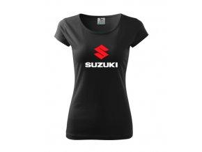 dámske tričko suzuki čierne