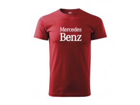červené tričko mercedes 2