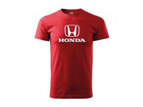 červene tričko honda