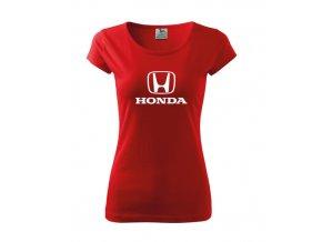 dámske tričko honda červené